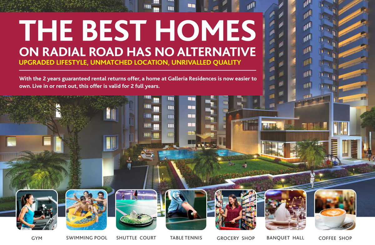 Alliance Galleria Residences Guaranteed Rental Returns