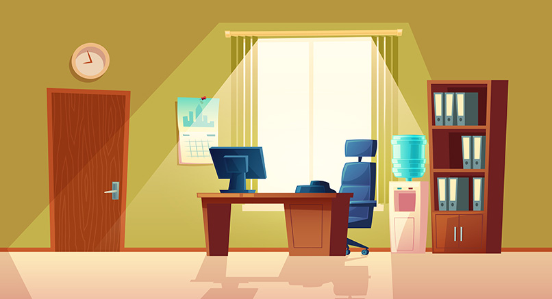 Home Office Space Set Up Ideas For Small Home in pallavaram