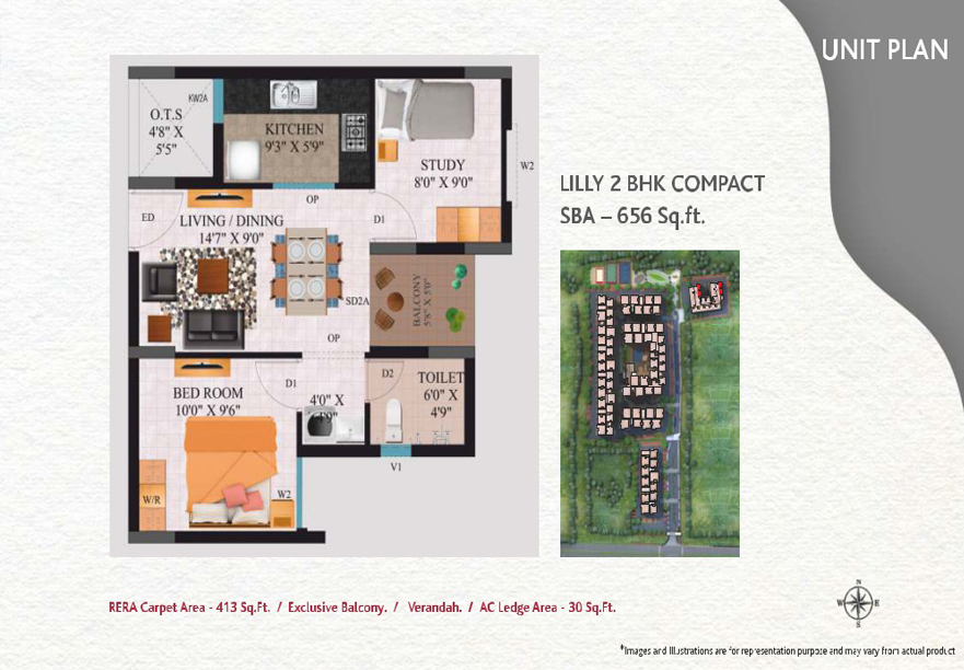 lilly-2bhk-compact